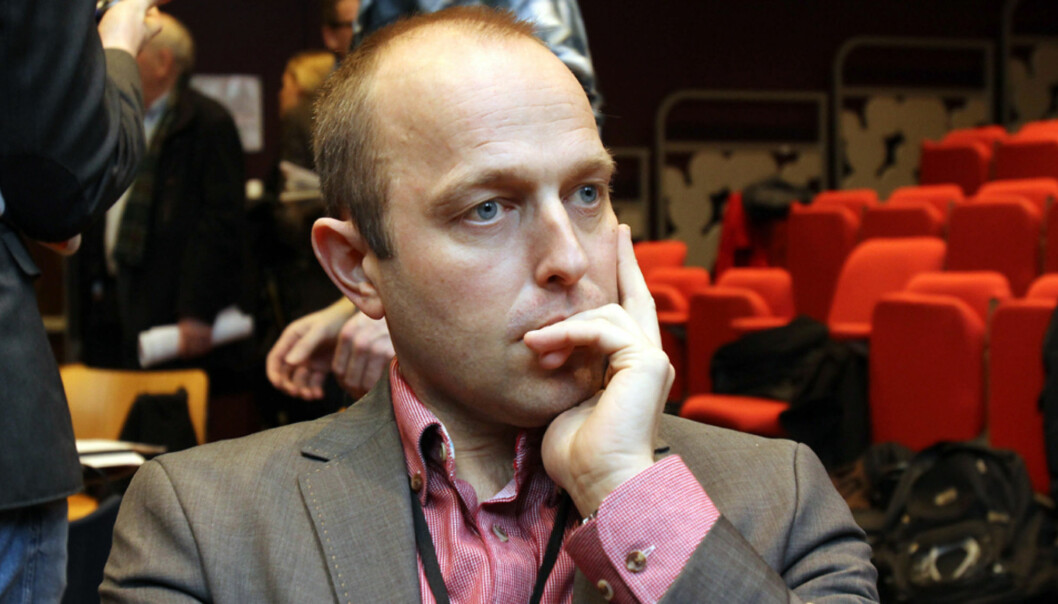 Mads Yngve Storvik har nettopp tatt over sjefsstolen i NTB. Arkivfoto: Birgit Dannenberg