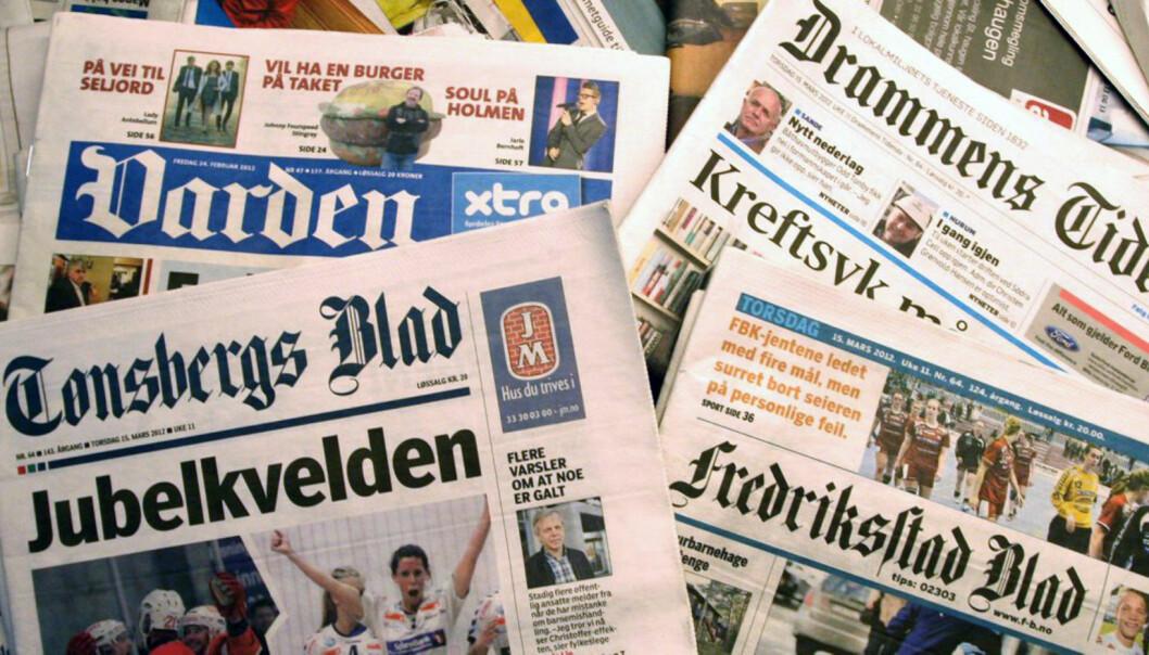 Mange aviser vil bli rammet av en eventuell budstreik. Illustrasjonsfoto: Martin Huseby Jensen