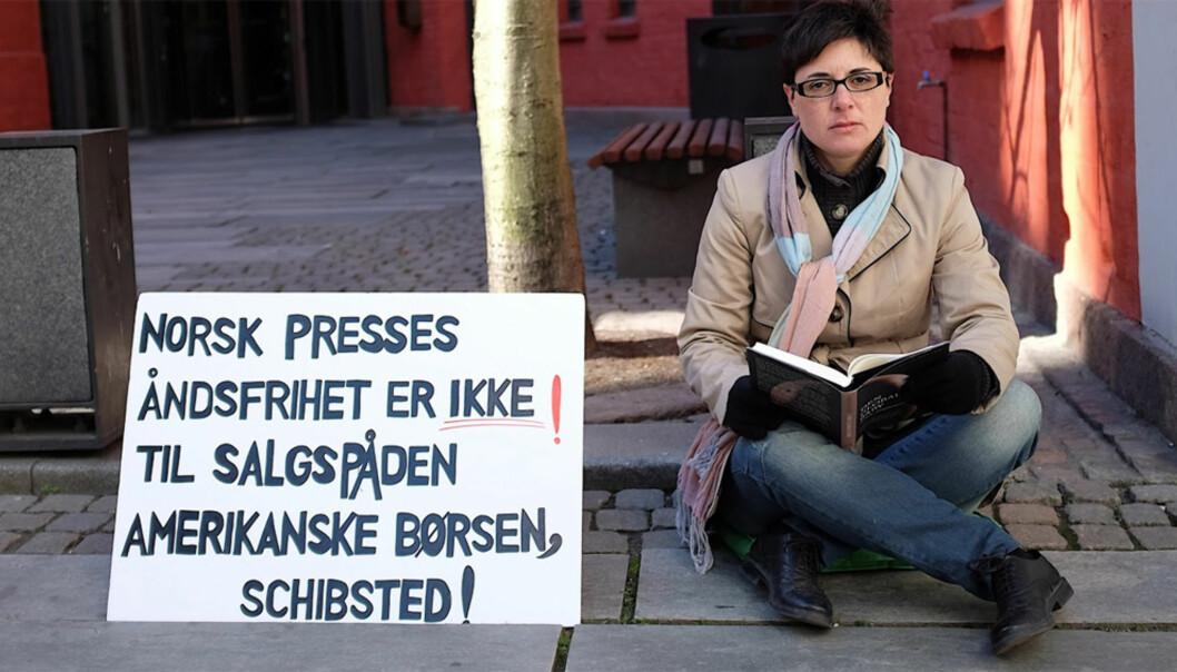 Sara Mats Azmeh Rasmussen forlater den norske offentligheten. Foto: Arnfinn Pettersen
