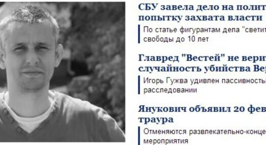 Fordømmer journalistdrap