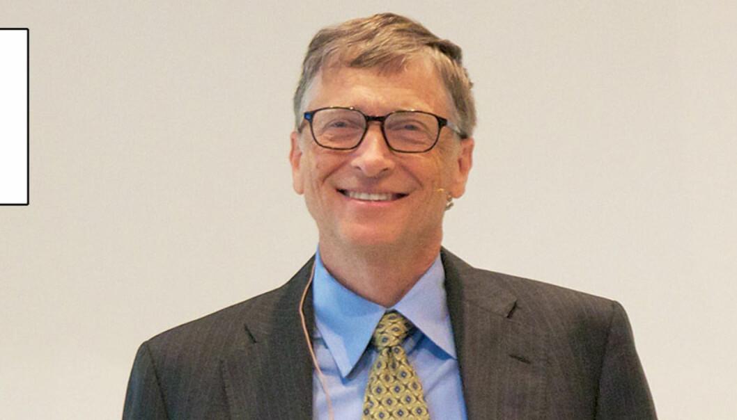 Styrtrike Bill Gates har gitt penger til et fond som over tre år deler ut rundt 15 millioner kroner til europeiske journalister. Foto: Maik Meid/Flickr.com