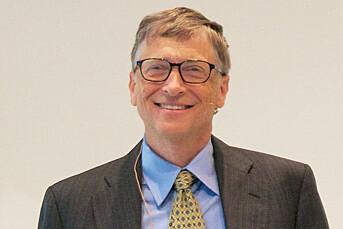 Deler ut Bill Gates-penger
