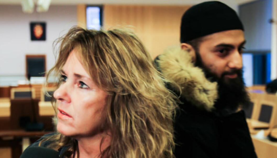 Fra rettsaken: Dagsavisenjournalist Nina Johnsrud vitnet i saken mot Ubaydullah Hussain. Foto:Kathrine Geard