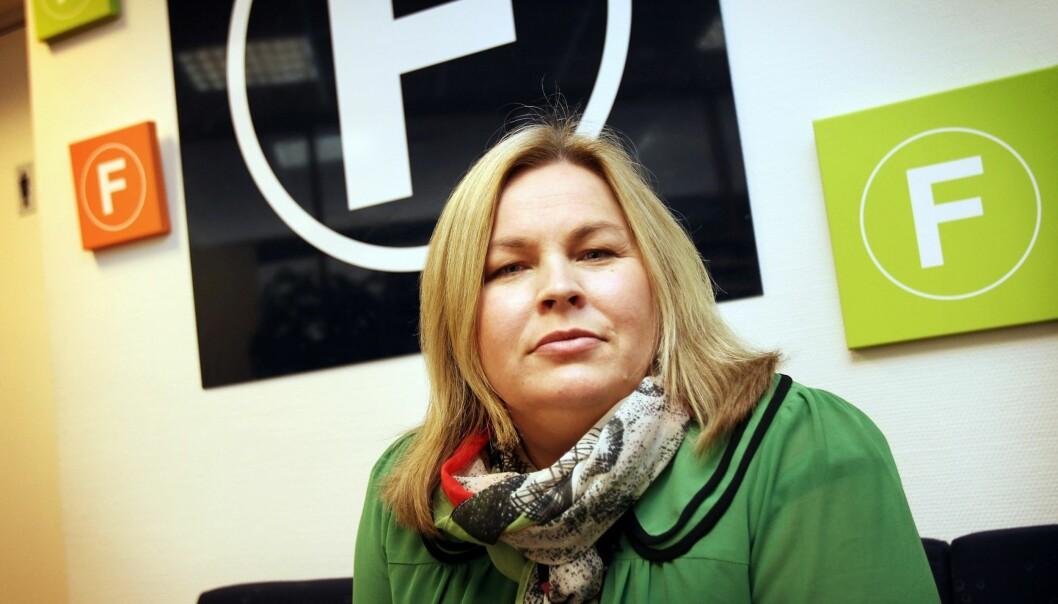Administrerende direktør Elin Floberghagen kan glede seg over et godt økonomisk år for Fagpressen i 2014. Foto: Birgit Dannenberg