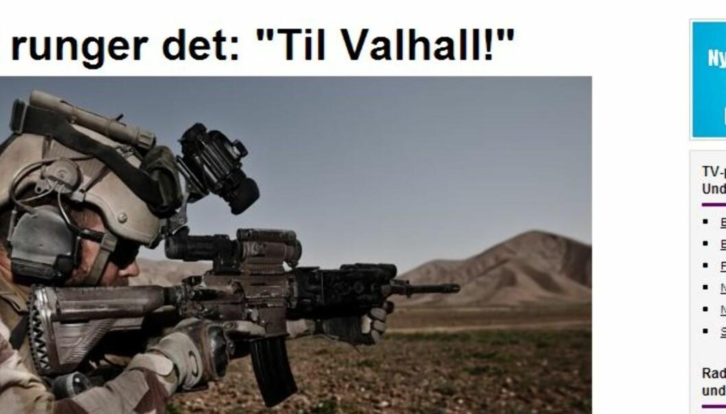 Illustrasjon, faksimile NRK.no
