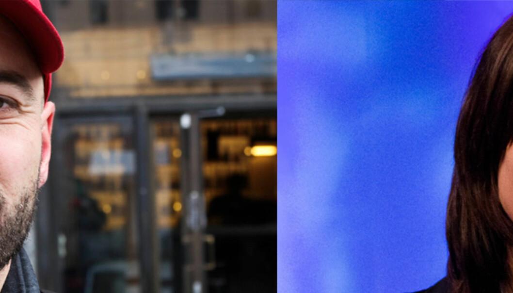 Anders Sømme Hammer og Kristin Solberg er tildelt Perspektiv-prisen. Begge foto: Kathrine Geard