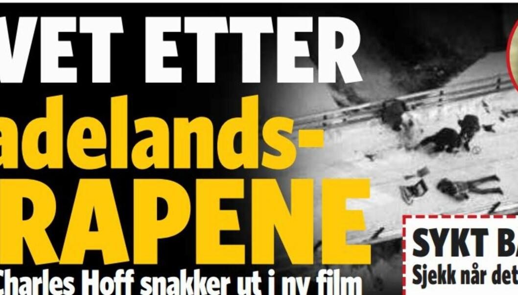 Faksimile av Dagbladet 22.1.14