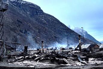 Private dronefilmet Lærdal-brannen