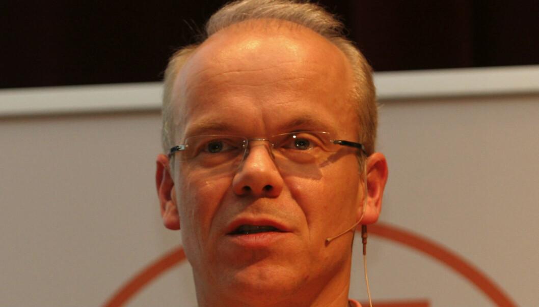 Jan Grønbech i Google Norge ble kontaktet for å fjerne fra nett lekkede vannmerkede bilder. Foto: Birgit Dannenberg