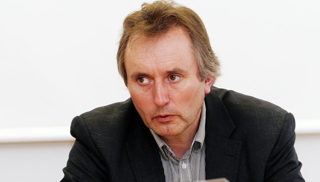 Sjefredaktør Helge Simonnes i Vårt Land. Foto: Birgit Dannenberg