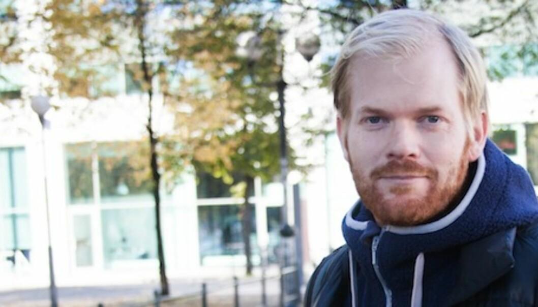 PK-leder Sveinung Uddu Ystad. Foto:Kathrine Geard