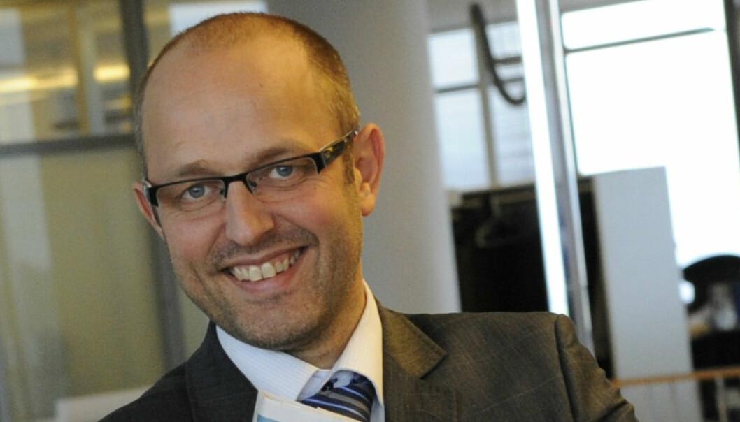 Ny leder i Nationen og Tun Media Mads Ynge Storvik. Foto: Birger Morken/Posten Norge