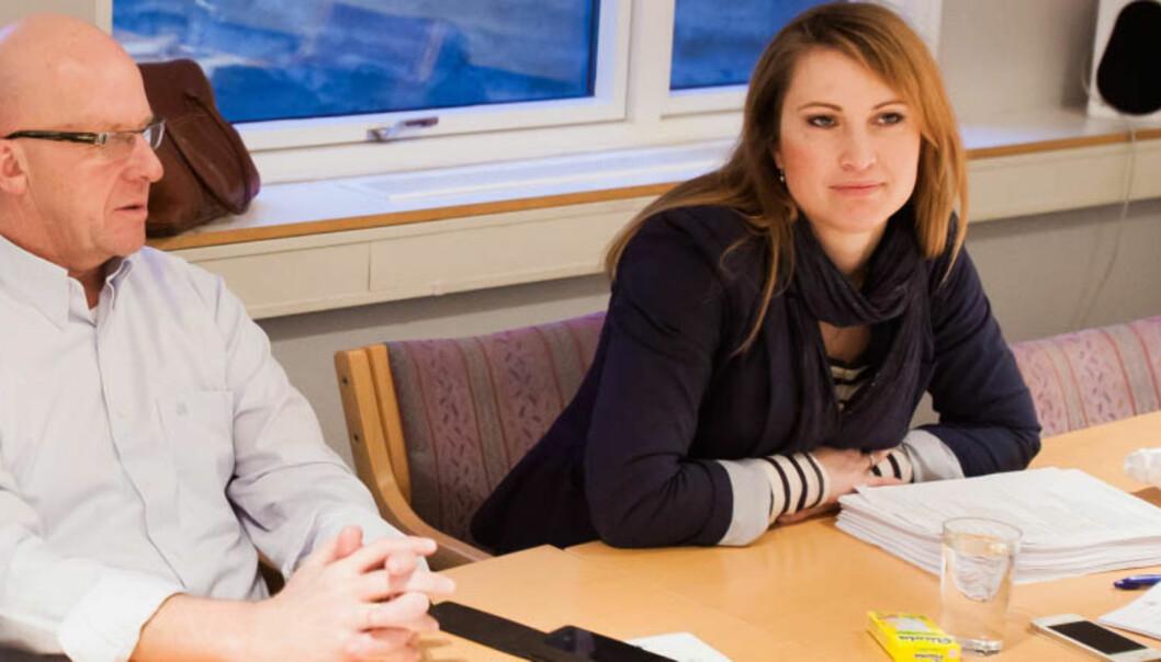 Øyvind Brigg representerer journalistene og Eva Sannum allmennheten i PFU. Foto: Kathrine Geard