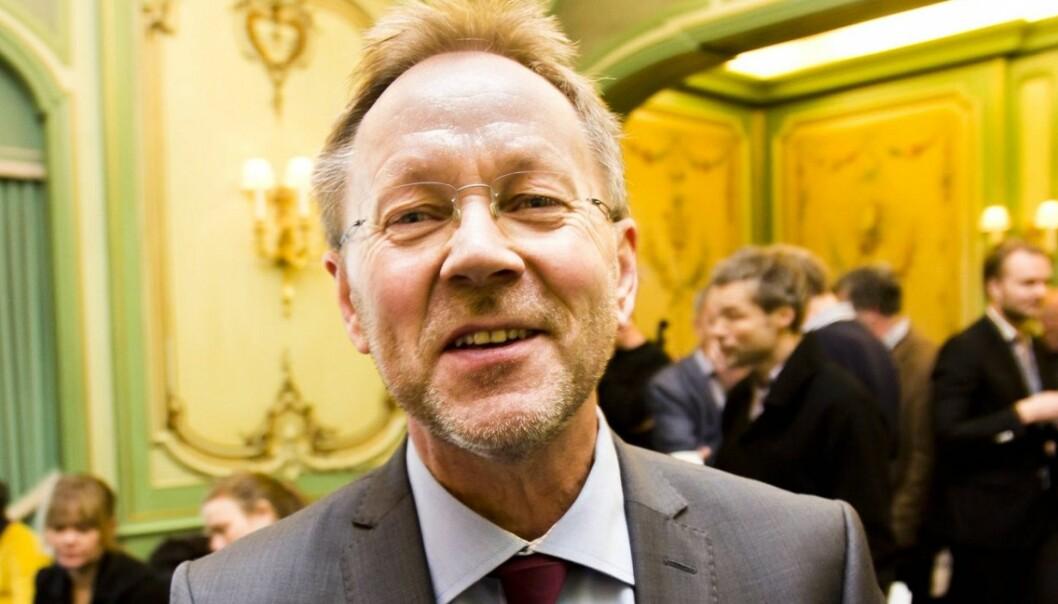 I VINDEN: Ansvarlig redaktør John Arne Markussen måtte tirsdag registrere at E-sjefen tilbakeviste oppslaget om omfattende telefonovervåkning. Foto:Kathrine Geard