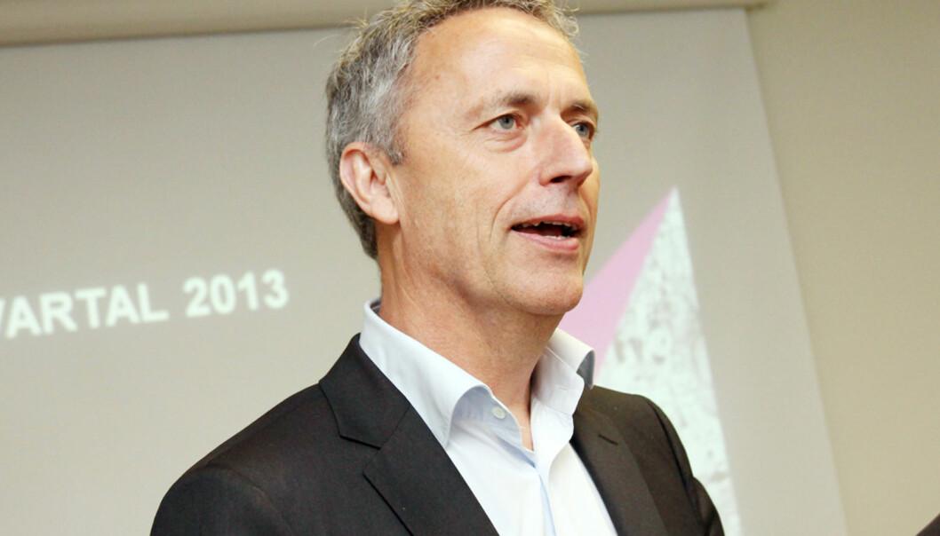 Amedias konsernsjef Are Stokstad. Foto: Birgit Dannenberg
