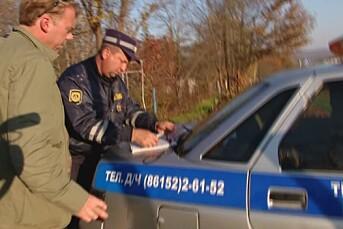 TV 2-team  trakassert av russisk politi