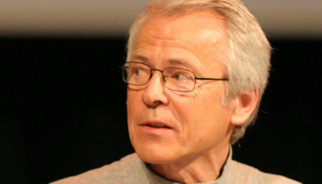 Finn Sjue. Her fra en debatt i 2005. Foto: Birgit Dannenberg