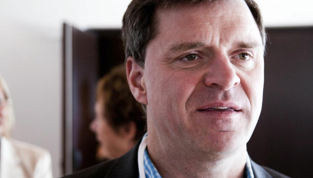 Espen Egil Hansen blir toppsjef i Aftenposten. Foto: Kathrine Geard
