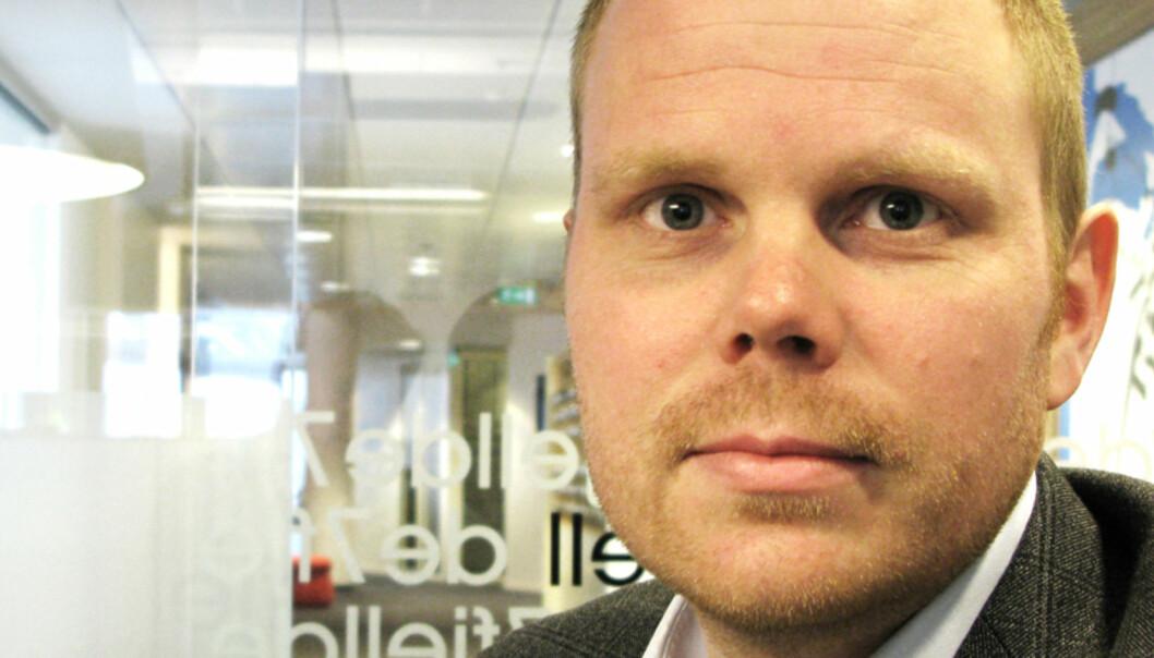 Sjefredaktø Gard Steiro i Bergens Tidende. Foto: Martin Huseby Jensen