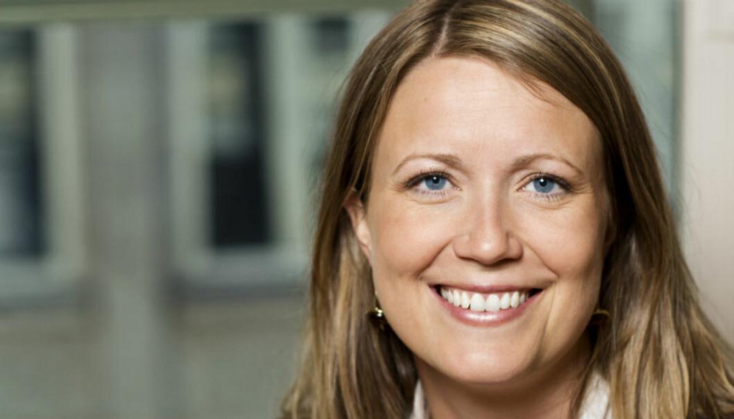 Therese Manus Hønningstad i kommunikasjonsforeningen håper åpenhet kan bedre forholdet til journalister.
