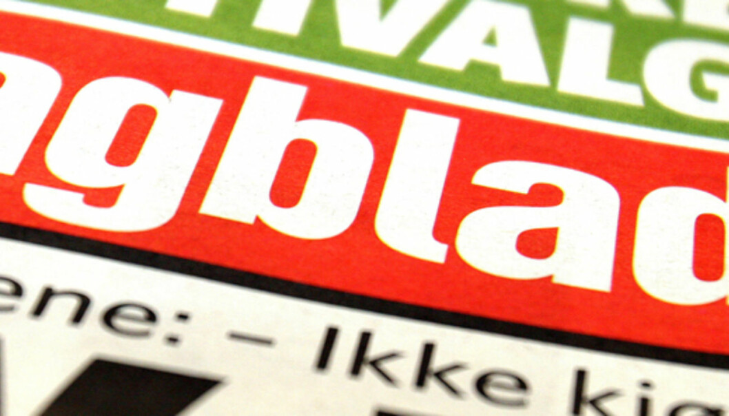 VEKST PÅ NETT: Dagbladets papirutgave hadde et gjennomsnitt på 780.000 lesere i første kvartal i år. Det er 11.000 færre lesere enn nettutgaven.20060526Brukt i 0906, på nett
