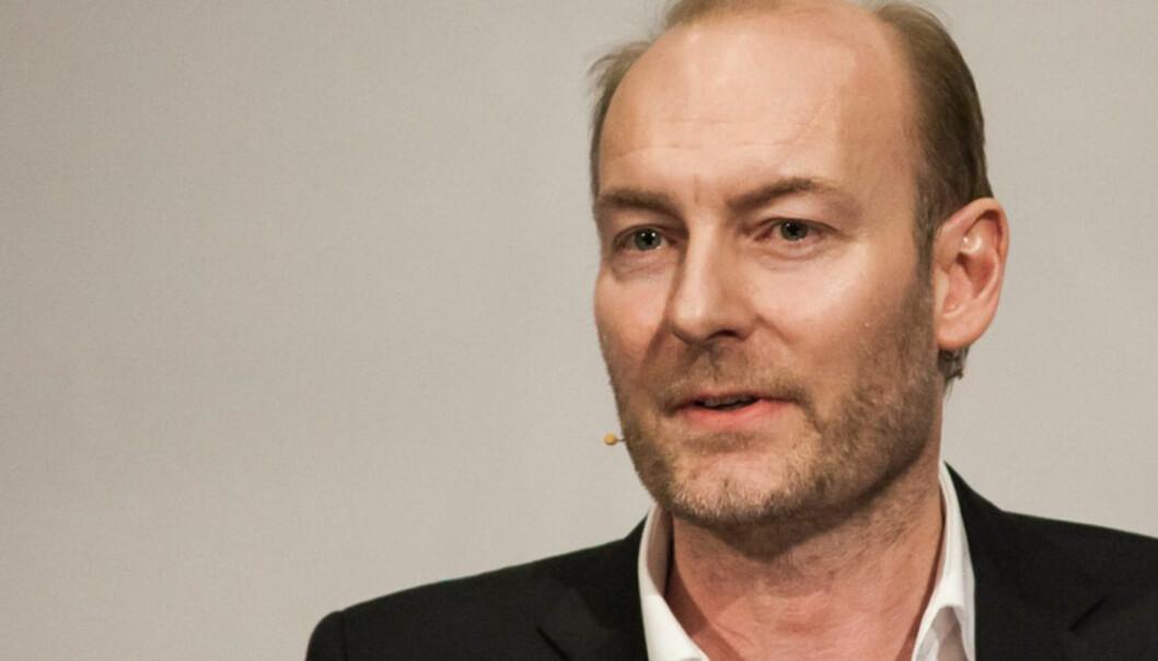 Redaktør i Aftenposten, Knut Olav Åmås. Foto:Kathrine Geard