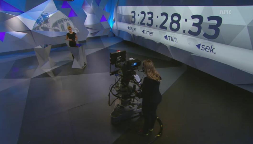 NRK får kritikk for å ha sluppet til de «andre» partiene i for liten grad. Foto: NRK