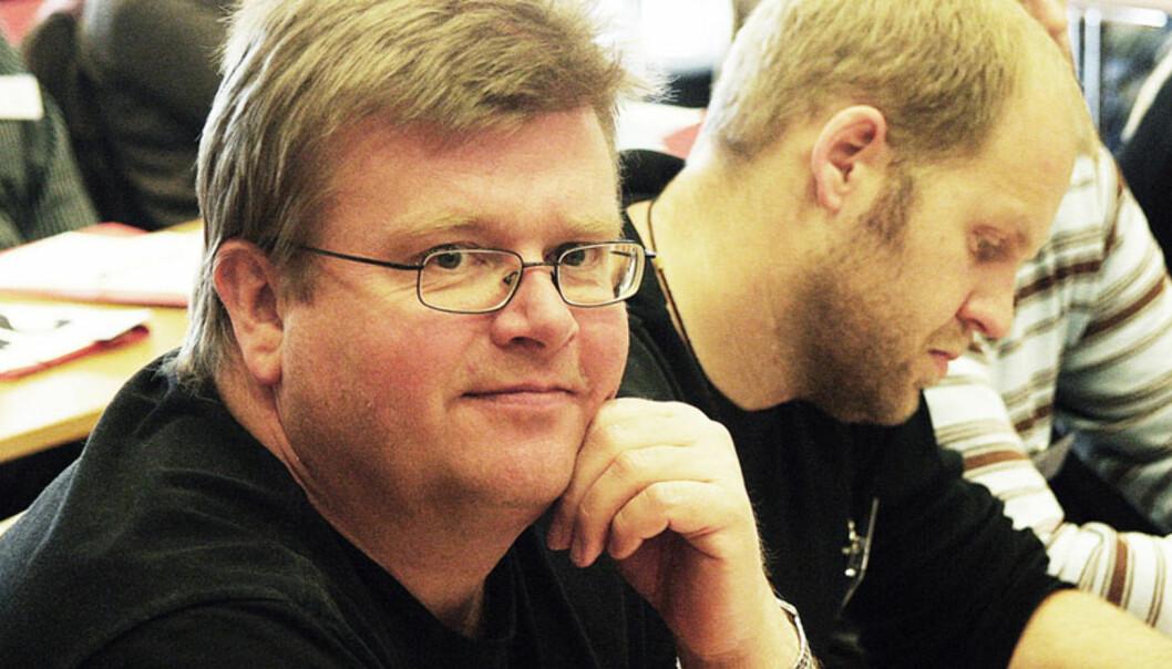 Tidligere klubbleder i Dagsnytt, Rolf Johansen, velges onsdag trolig til ny OJ-leder. Foto: Kathrine Geard