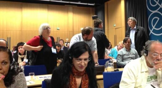 Stemmeskandale på journalistkonferanse