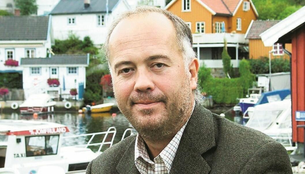 Konserndirektør Sigmund Kydland i Amedia skal være fysen på å gå tilbake til sin gamle jobb i Tønsbergs Blad. Foto: Elsebeth Frey