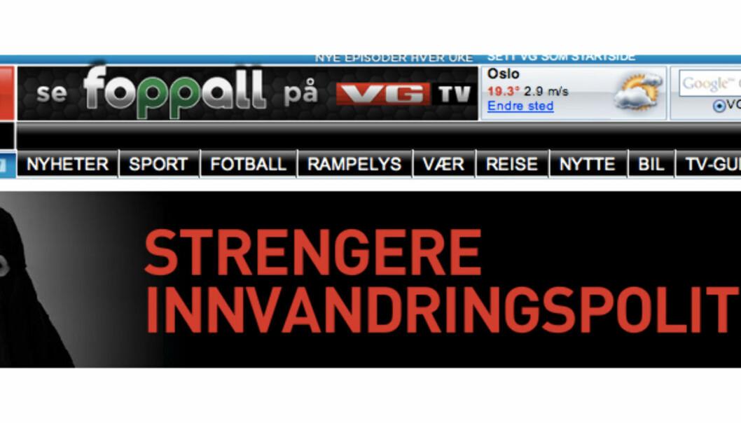 Denne annonsen for Frp mener Even Aas Eng er i drøyeste laget.