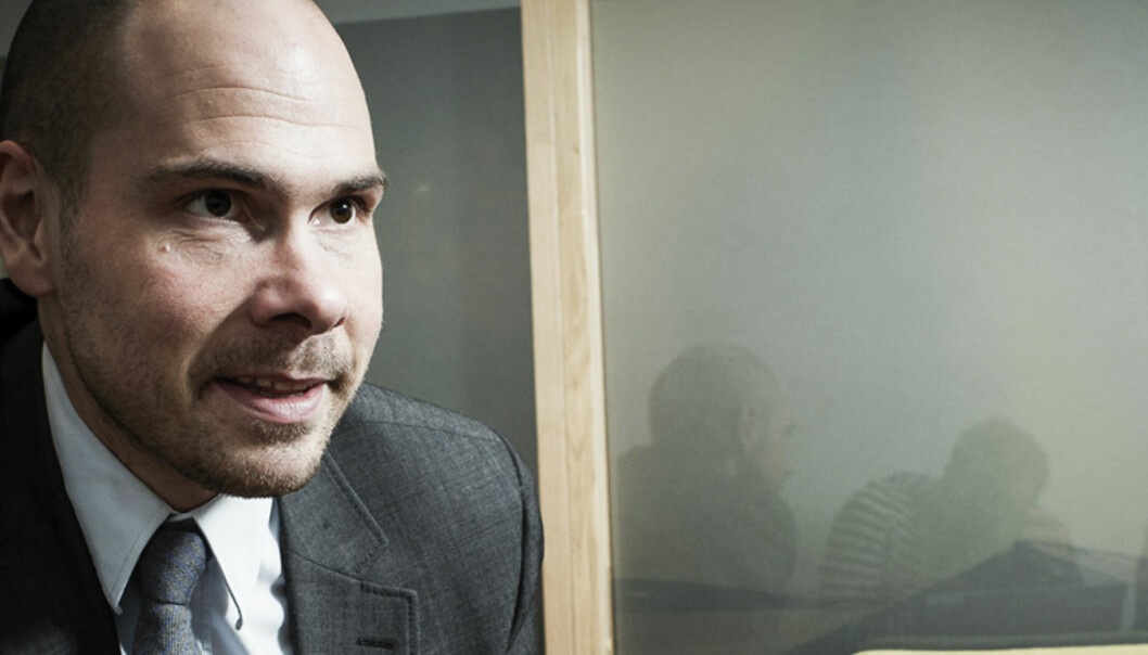 Anders Opdahl, redaktør i NordlysFoto: Lars Åke Andersen