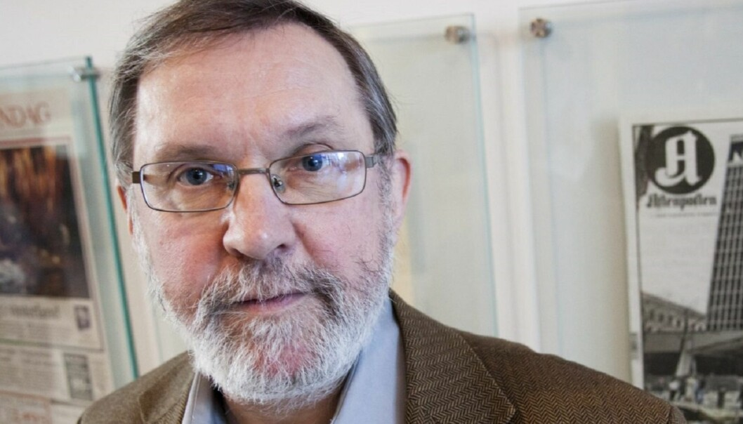 REDAKTØRSJEF: Harald Stanghelle dekket selv Treholt-saken og har liten tro på nyheter i lydopptakene fra retten. Foto: Kathrine Geard