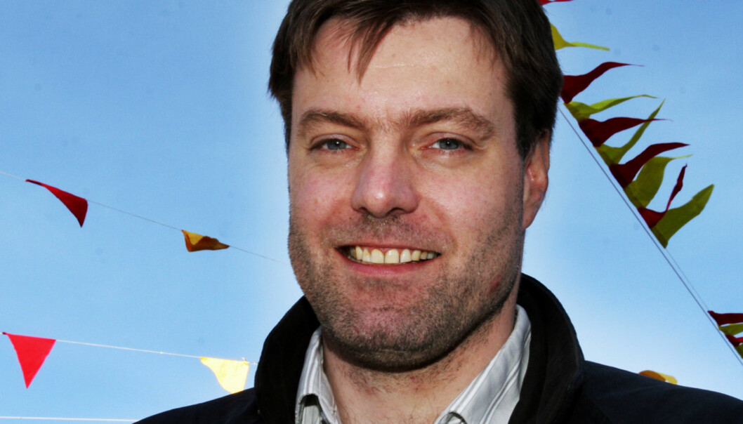 Anders Brenna håper flere betalingsmurer rives i høst. Foto: Birgit Dannenberg