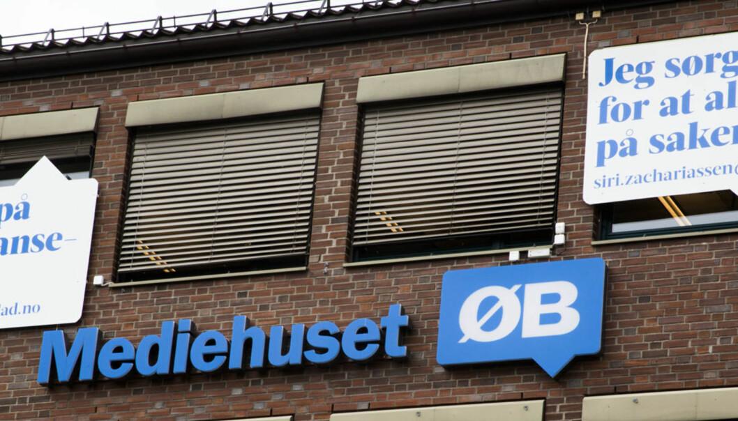 Teppet har falt for betalingsmuren i Østlandets Blad. Foto: Kathrine Geard
