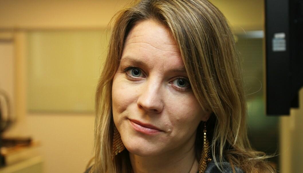 Ragnhild Imerslund, kommunikasjonssjef i UD. FOTO: KATHRINE GEARD