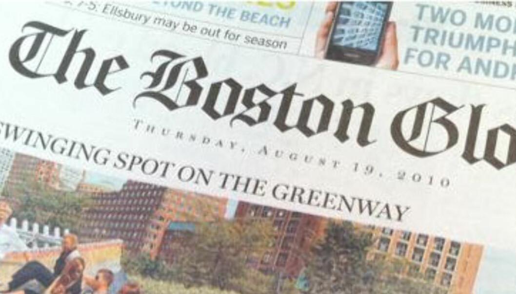 New York Times selger Boston Globe for en femtendedel av hva de selv betalte for 20 år siden. Foto: Awesomefund/Flickr.com