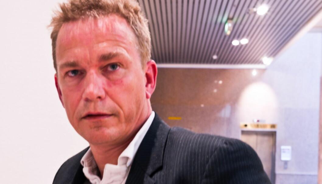 Redaksjonssjef Espen Olsen Langfeldt i VG Mobil.. Foto: Helge Øgrim