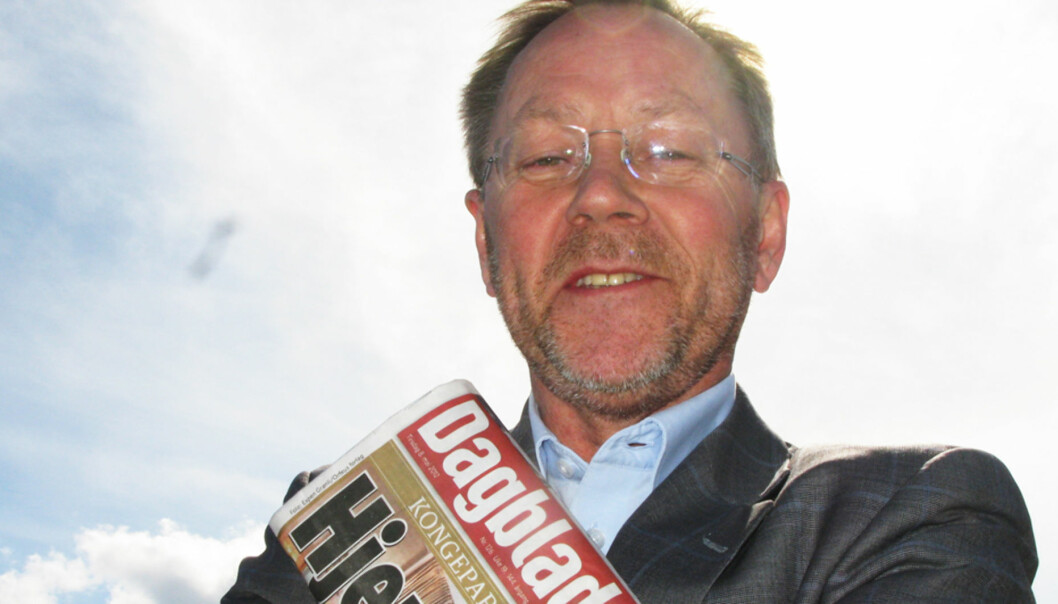 Sjefredaktør John Arne Markussen slår fast at søndag aldri er blitt den store avisdagen i Norge. Dermed avviser han heller ikke at Dagbladets søndagsutgave kan bli ofret. Foto: Martin Huseby Jensen