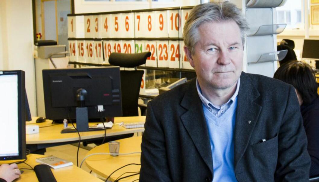 Arve Løberg, sjefredaktør Trønderavisa. Foto:Kathrine Geard