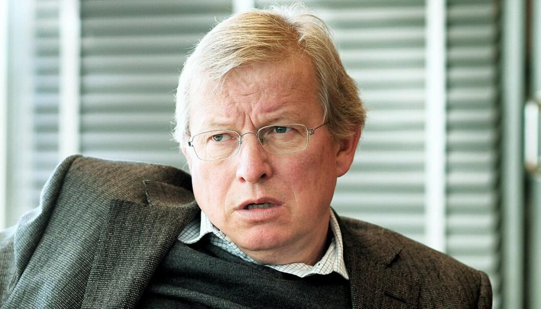 VGs tidligere sjefredaktør Bernt Olufsen. Foto: Birgit Dannenberg.