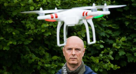 Droner i nyhetsjakt