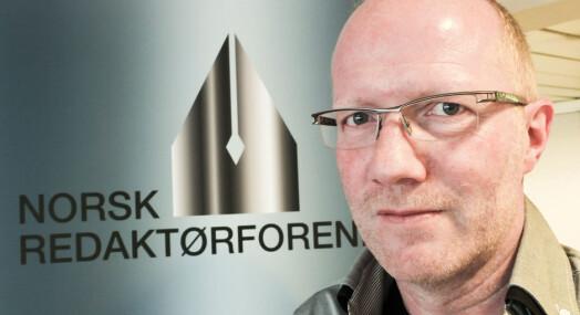 Redaktør=foreningen hjelper Ulrik Imtiaz Rolfsen