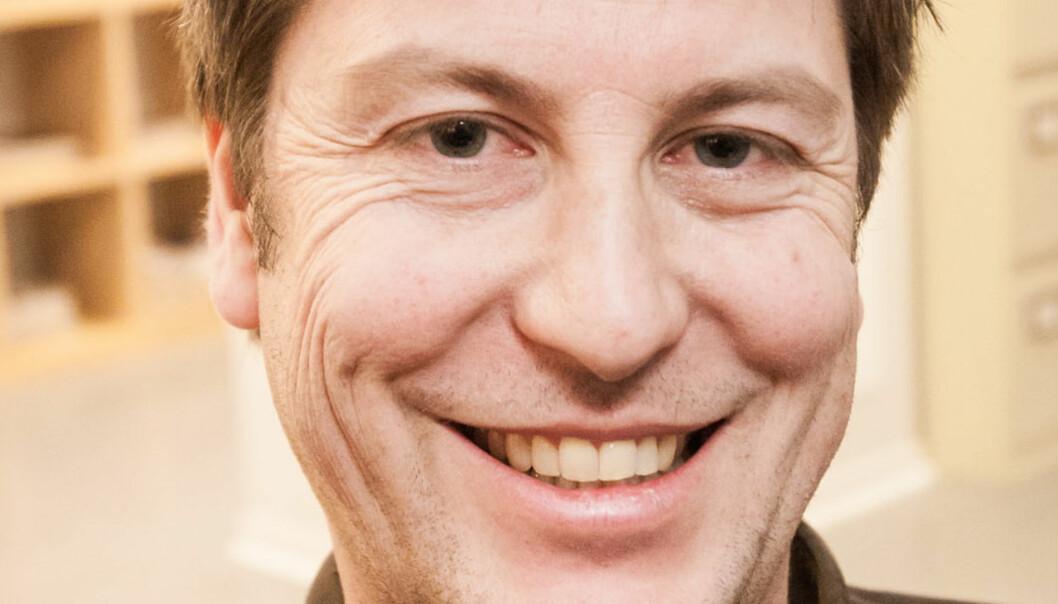 REDAKTØR: Håkon Borud bytter redaktørstol i Amedia. Foto: Kathrine Geard
