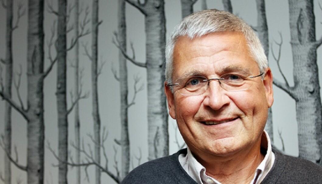 VOLUMFALL: Avisene har lite å hente på pris, mener Jan Vincent Jørgensen. Foto: Birgit Dannenberg