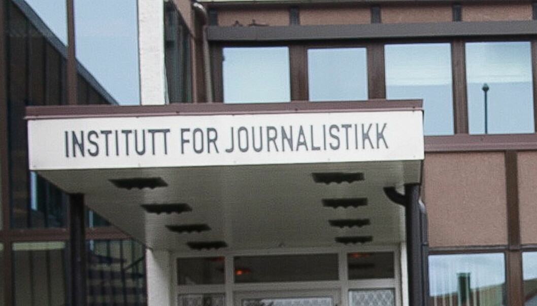 Institutt for Journalistikk. Foto:Kathrine Geard