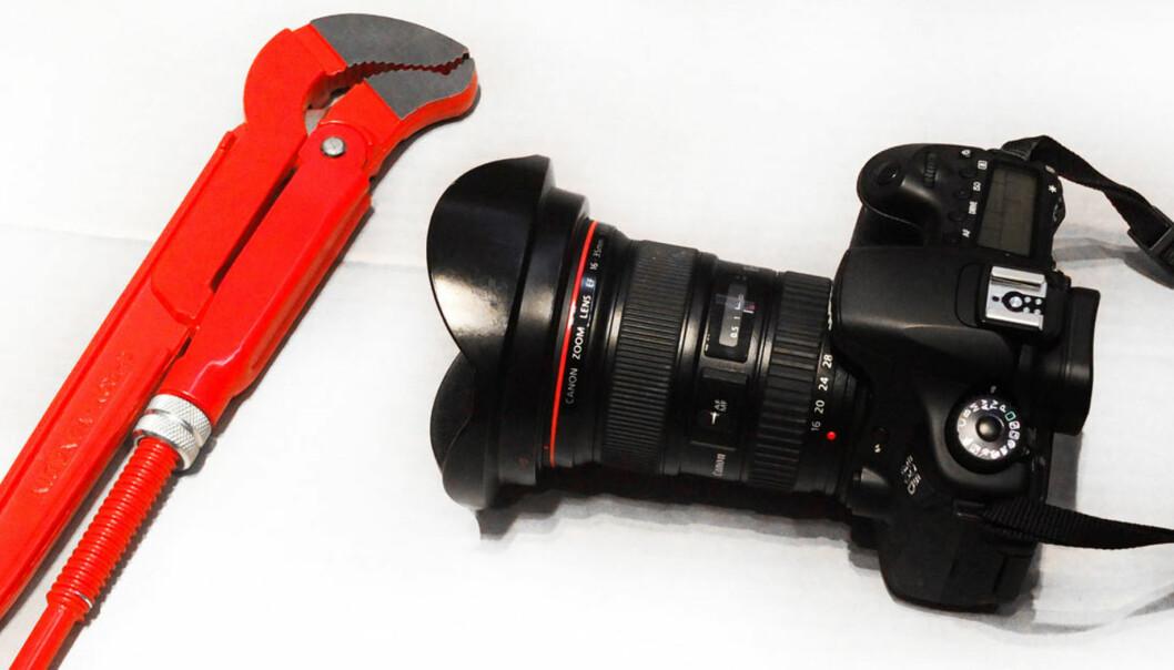 Det er dyrere å hyre en rørlegger enn en frilansfotograf. Foto: Kathrine Geard
