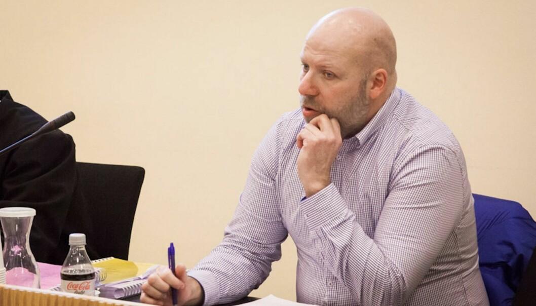 Erik Schjenken i lagmannsretten tidligere i år. Foto: Kathrine Geard