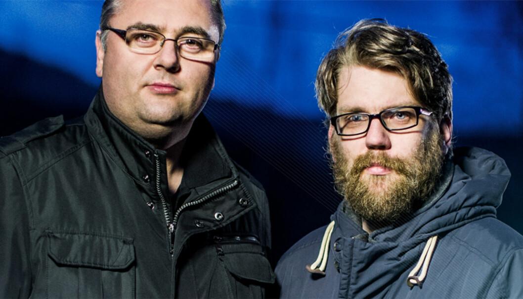 Kjetil Stormark og Øyvind Strømmen vil overvåke ekstremisme. Foto: Bo Mathisen