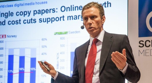 Schibsted-topper solgte aksjer for 7,9 millioner